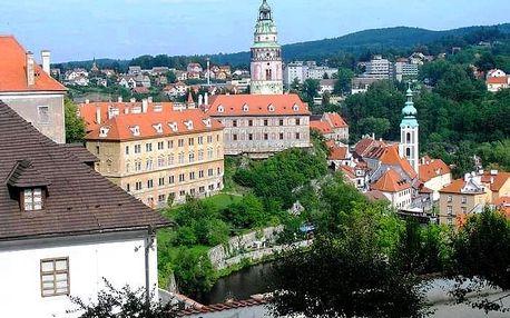 Šumava, zámky a kláštery na Vltavě, Lipno a okolí - 5 dní s dopravou a snídaní