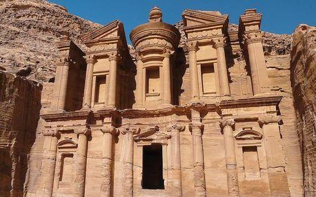 Jordánsko a Izrael - biblické památky a Mrtvé moře, Petra