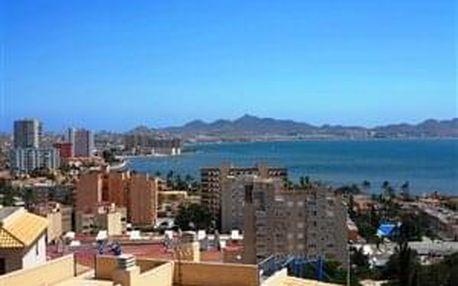 """Španělské """"Mrtvé moře"""" - Laguna Mar Menor - letecky, Murcie"""