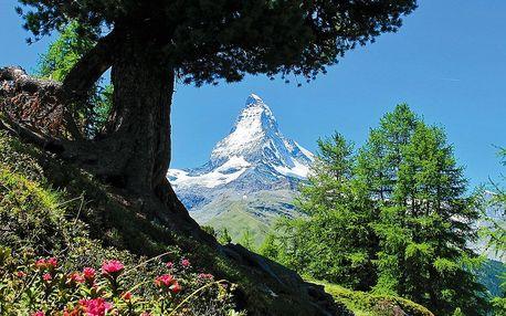 Švýcarsko pro seniory - Wallis s kartou, Graubünden