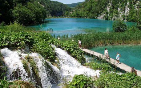 NP a krásy Chorvatska - Paklenica, Zadar, Slapovi krky, Šibenik, Split, Trogir, Plitvice - 6 dní s polopenzí