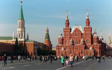 Moskva a Petrohrad - letecky a vlakem, Severozápadní Rusko