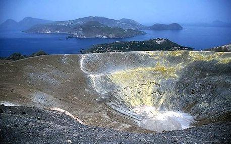 Liparské ostrovy - letecky, Sicílie