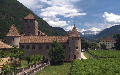 Paleta z Dolomit a jezero Lago di Garda, Dolomity - 5 dní s polopenzí