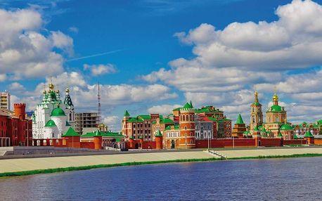 Moskva, Zlatý kruh - Sergiev Posad a pohádkový Tatarstán, Povodí Volhy