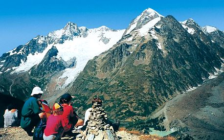 NP Gran Paradiso, údolí Aosty, Mont Blanc, Valle d'Aosta