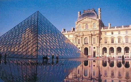 Paříž a zámky Versailles a Fontainebleau, Île-de-France - 5 dní s průvodcem a ubytováním