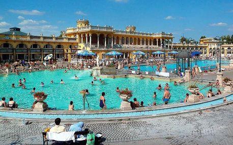 Památky, pohoří a termální lázně Maďarska, Budapešť a okolí