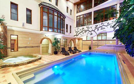 Stylový Kinga Hotel Wellness **** v Polsku s polopenzí a SPA