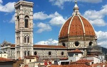 Řím, Florencie, Tivoli, Toskánsko - 5 dní s dopravou, ubytováním a snídaní