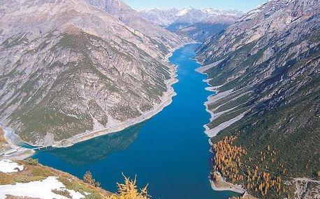 Švýcarské Alpy, italské Alpy a termální lázně Bormio, Alta Valtellina