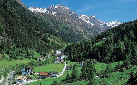 Relaxace v Alpách - Tyrolské Alpy, Tyrolsko