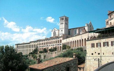 Středověká romantická Umbrie + Florencie, Ligurie