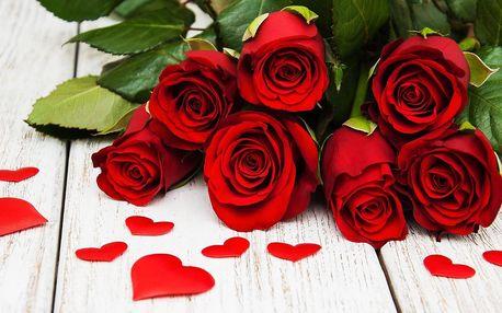 Kytice růží z lásky, k narozeninám i pro radost