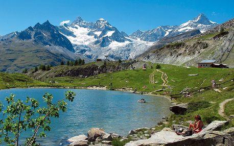 Švýcarské hory a termální lázně, Valais