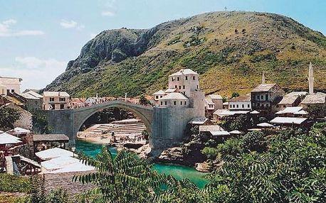 Přírodní krásy a památky Bosny a Hercegoviny + jižní Dalmácie, Sarajevská oblast