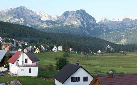 Bosna a Hercegovina + Černá Hora - pohoří Durmitor, Severní pohoří