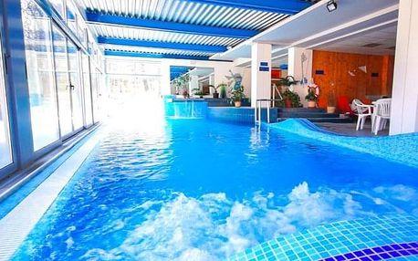 Šoproň: Hotel Szieszta s polopenzí, neomezeným wellness a vstupem na koupaliště