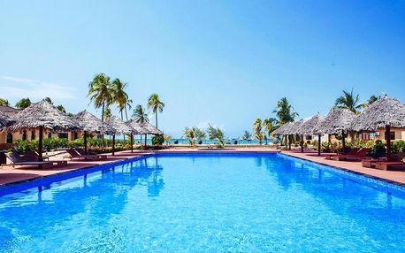 Zanzibar - The Sands Beach Resort (Dongwe) na 9 až 12 dní, polopenze s dopravou letecky z Prahy