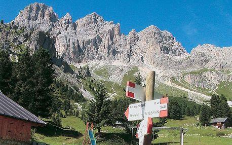 Srdce Dolomit II - Rosengarten, Latemar, Sella, Sella Ronda