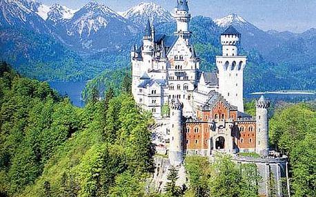 Bavorské hrady a zámky, Bavorsko - 3 dny s dopravou a snídaní