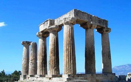 Řecko - velký okruh - autobusem, Peloponés