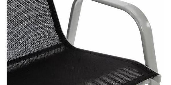 Garthen 28570 Zahradní židle stohovatelná s vysokým opěradlem3
