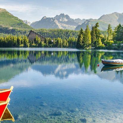 Jaro, léto nebo podzim v Tatrách až na 8 dní