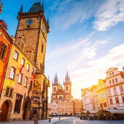 Romantický pobyt v centru Prahy se snídaní a vínem