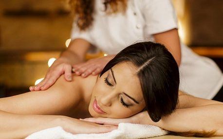 Pohodová relaxační masáž zad, krku a šíje