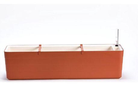 Plastia Samozavlažovací truhlík Berberis 80, terakota + sl. kost