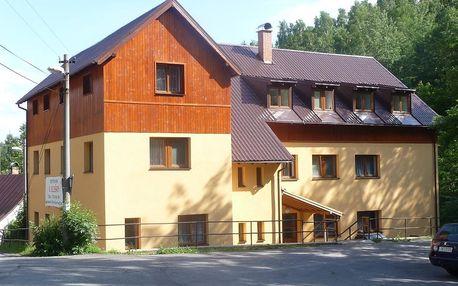Jizerské hory: penzion U Elišky v Bedřichově