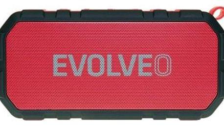 Přenosný reproduktor Evolveo Armor FX5 červené (ARM-FX5-RED)