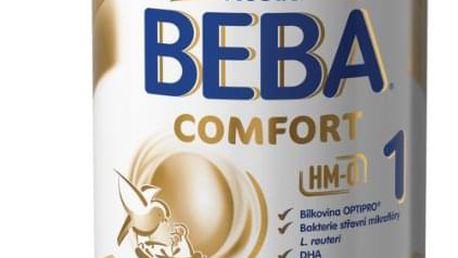 6x BEBA Comfort HMO 1 (800 g) – kojenecké mléko