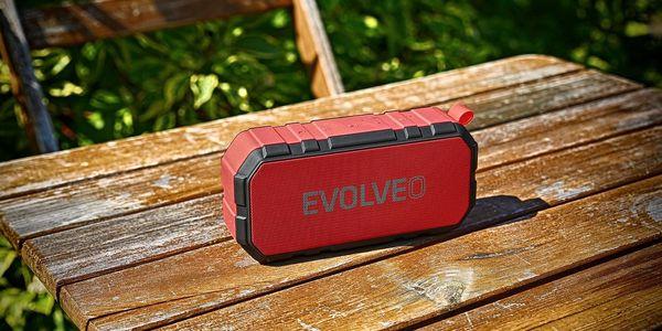 Přenosný reproduktor Evolveo FX5 (ARM-FX5-RED) červené2