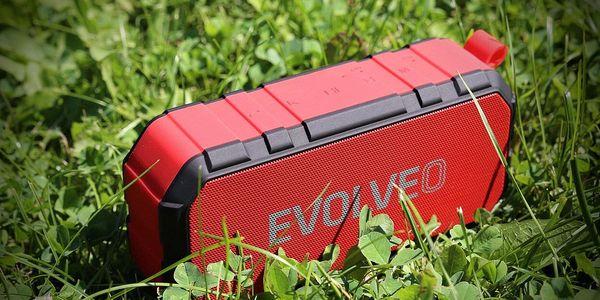 Přenosný reproduktor Evolveo FX5 (ARM-FX5-RED) červené3
