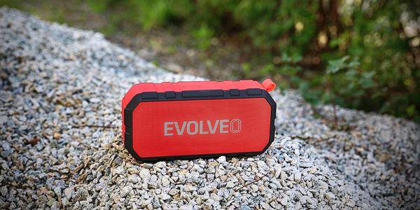 Přenosný reproduktor Evolveo FX5 (ARM-FX5-RED) červené5