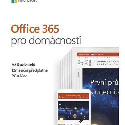 Software Microsoft Office 365 Pro domácnosti CZ (6GQ-00898)