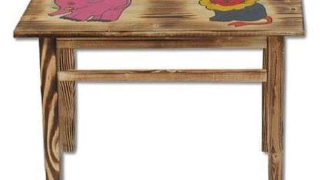 Dětský stoleček s obrázkem AD232