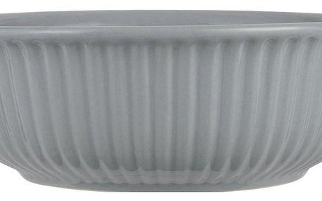 IB LAURSEN Salátová mísa Mynte French Grey Ø 23 cm, šedá barva, keramika