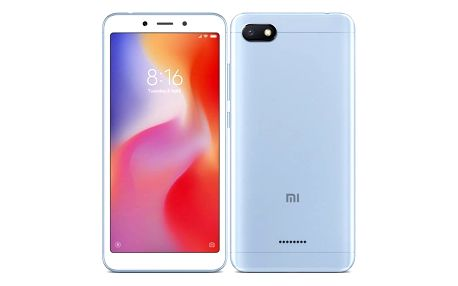Mobilní telefon Xiaomi Redmi 6A Dual SIM 16 GB modrý (18987)