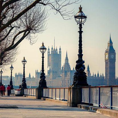 3denní Londýn s plavbou po Temži i návštěvou ateliérů H. Pottera