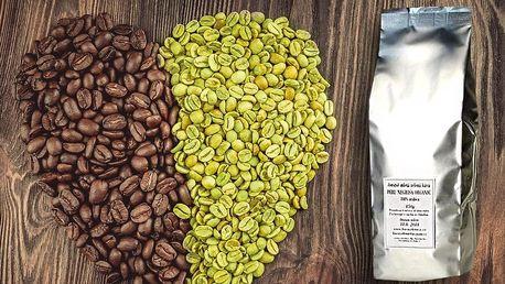 450 g jemně mleté zelené kávy na podporu hubnutí