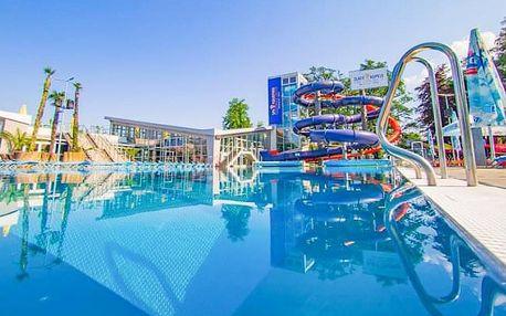 Turčianské Teplice: Hotel Rezident *** s polopenzí, aquaparkem i masáží