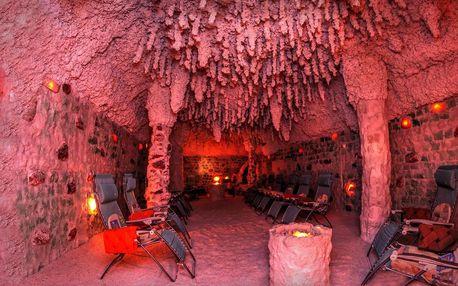 Relax v největší solné jeskyni v republice