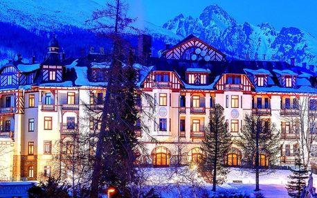 Vysoké Tatry, Grandhotel Starý Smokovec**** s luxusním wellness, Vysoké Tatry, Slovensko