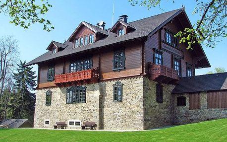 Šumava přes léto v hotelu nedaleko nádrže Lipno s wellness, soláriem, fitness a polopenzí