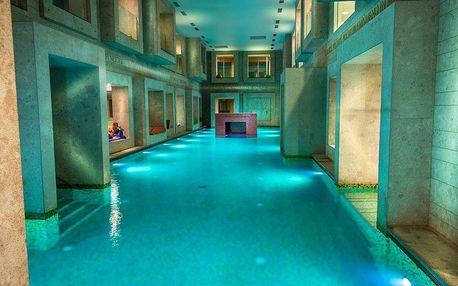 Rimske Toplice, hotel Zdraviliški dvor**** s římskými lázněmi, Rimske Toplice, Slovinsko