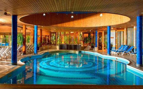 Visegrád, hotel Silvanus**** s výhledem na Dunaj a neomezeným wellness, Visegrád, Maďarsko