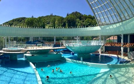 Laško, Thermana park Laško**** moderní hotel s termálními lázněmi, Laško, Slovinsko